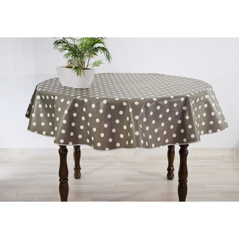 nappe toile cire ronde affordable nappe toile cire ronde diamtre cm escapade achat dedans salle. Black Bedroom Furniture Sets. Home Design Ideas