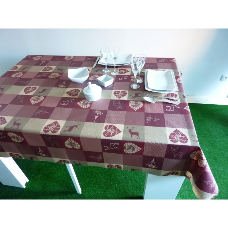 nappe coton enduit ovale toile enduite nappe de table en coton enduit with nappe coton enduit. Black Bedroom Furniture Sets. Home Design Ideas