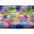 NAPPE EN TOILE CIREE 140 BALLONS LAQUEE