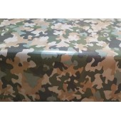 NAPPE TOILE CIREE militaire camouflage