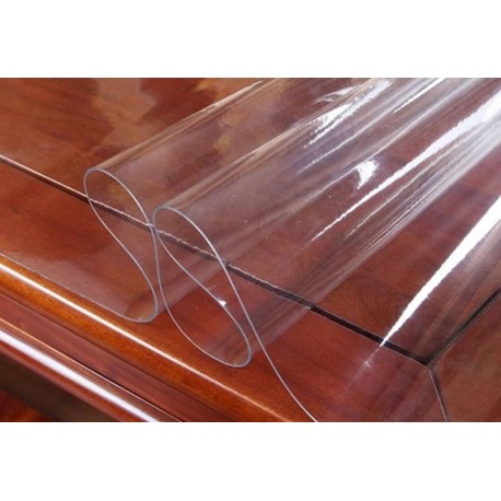 NAPPE  large 1m40 TRANSPARENTE 2MM