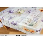 NAPPE PROTEGE TABLE LAVANDE PROVENCAL ARLES CARREE OVALE RECTANGLE RONDE