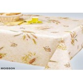 NAPPE PROTEGE TABLE MOISSON BLE RONDE OVALE CARREE RECTANGLE