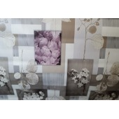 NAPPE TOILE CIREE TAUPE LILA CARRE RECTANGLE RONDE OVALE