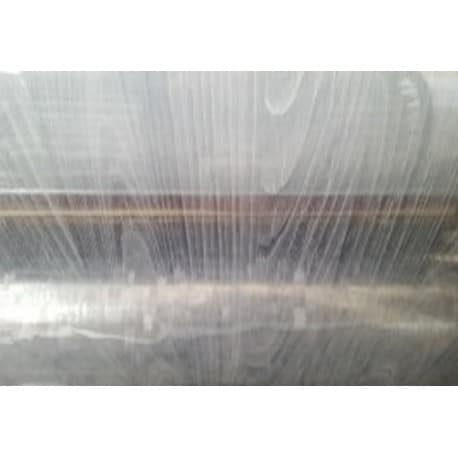 NAPPE TRANSPARENT EFFET TEXTURE BOIS PROTECTION DE TABLE