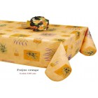 NAPPE EN TOILE CIREE FREJUS ORANGE 160