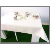 NAPPE PROTEGE TABLE ECRU PAILLETTE FETE NOEL RECEPTION