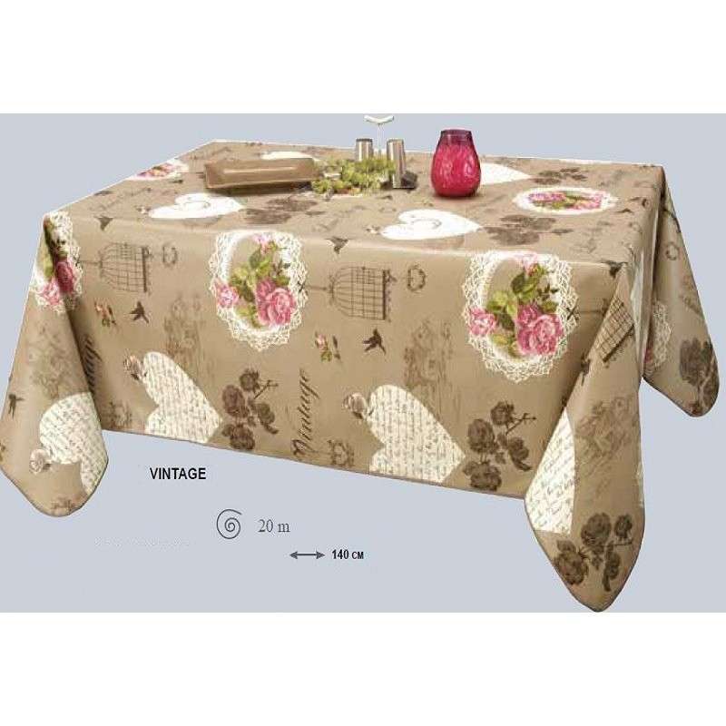nappe table ovale toile cir e. Black Bedroom Furniture Sets. Home Design Ideas
