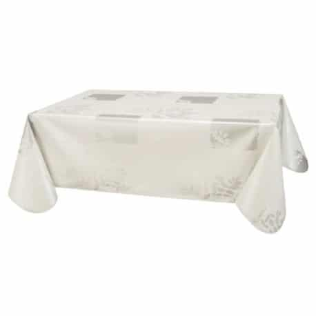 NAPPE PROTEGE TABLE VERA BLANC CARRE OVALE RECTANGLE RONDE