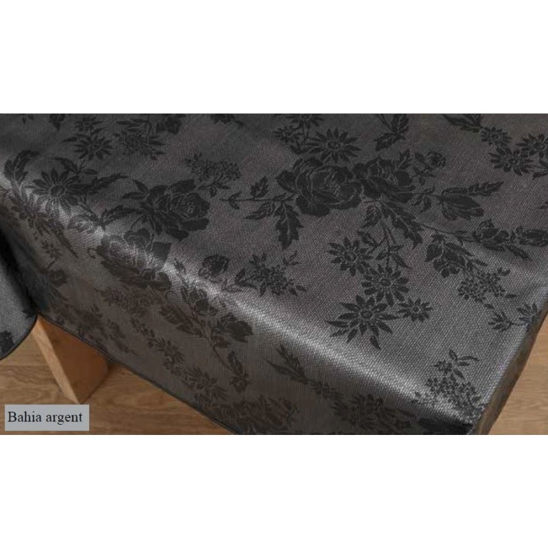 nappe de qualit avec relief noir et grise anti t che. Black Bedroom Furniture Sets. Home Design Ideas