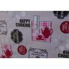 NAPPE TOILE CIREE EN 140 CM DE LARGE cooking cuisine